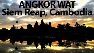 Video Angkor Wat - How we travel overland from Vietnam to Cambodia download MP3, 3GP, MP4, WEBM, AVI, FLV November 2017