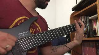 8 string riff with strandberg and nolly (neural dsp)