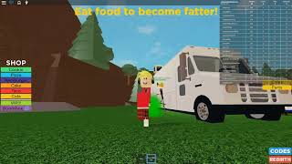 CHIPMUNK BECOMES FATTEST PERSON IN THE WORLD ON ROBLOX! (FUNNY ROBLOX VIDEO)