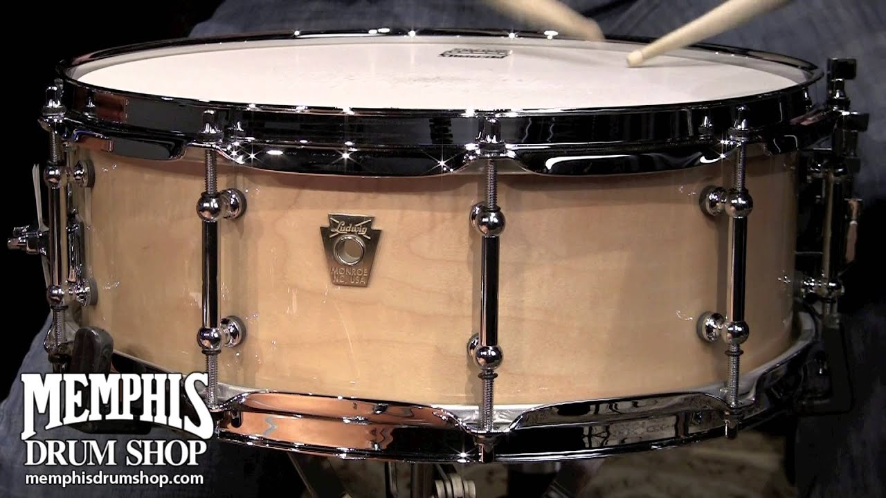 ludwig 14 x 5 classic maple snare drum youtube. Black Bedroom Furniture Sets. Home Design Ideas