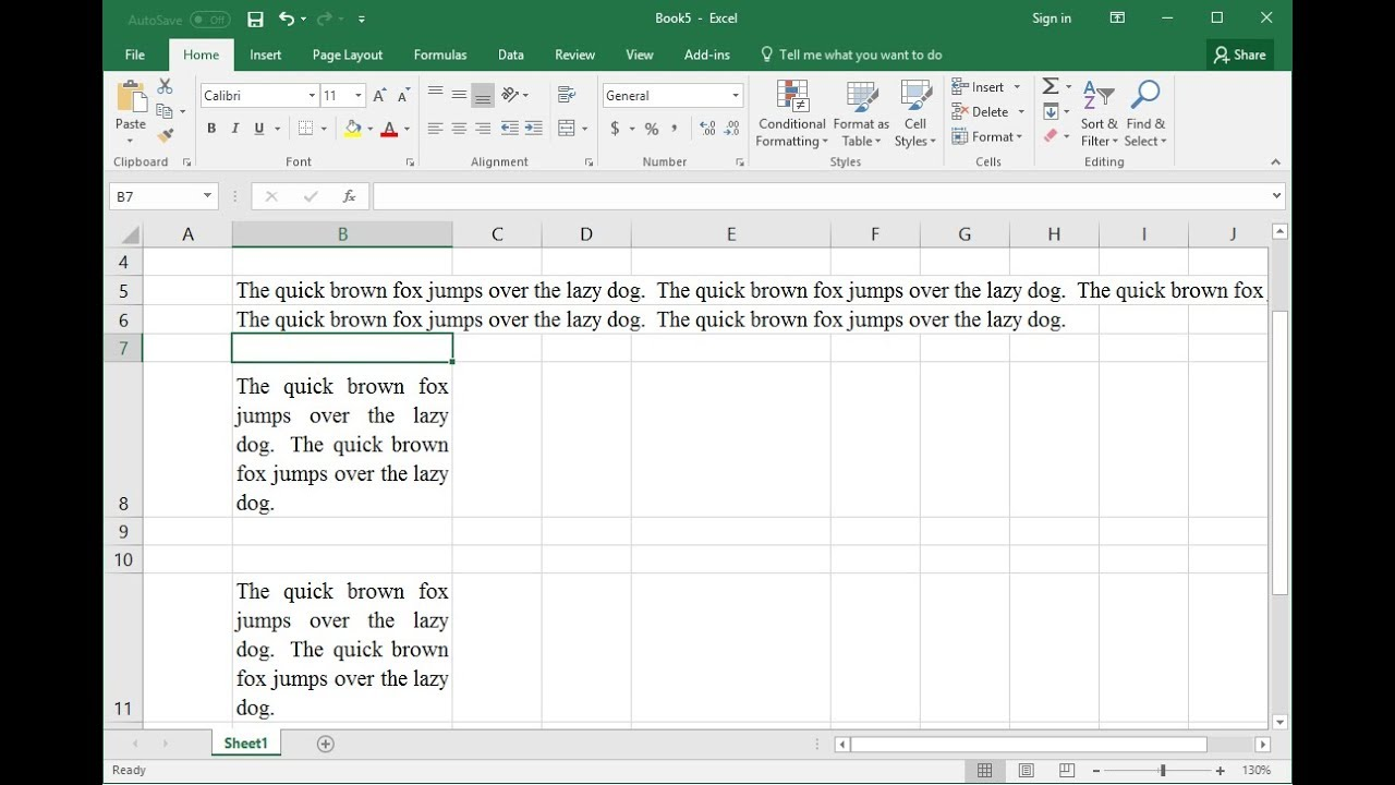 Shortcut Key To Wrap Justify Text In Ms Excel All Versions Youtube