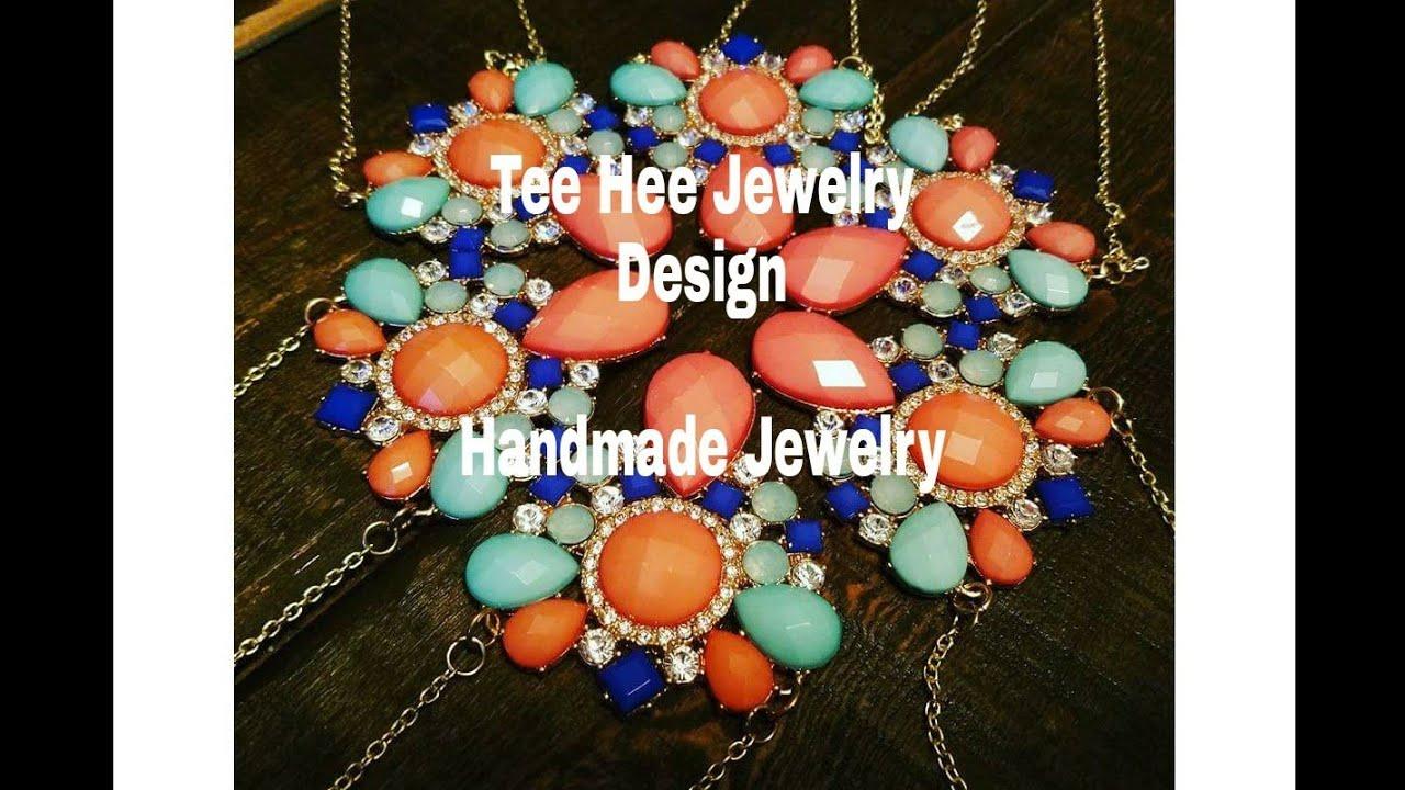 TeeHee Jewelry Design || Handmade Jewelry || My Etsy Shop