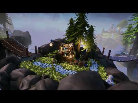 Floating Islands (Unreal Engine 4)