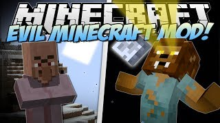 Minecraft | EVIL MINECRAFT MOD! (Werewolves, Farts & Blood Magic!) | Mod Showcase