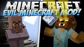 Minecraft | EVIL MINECRAFT MOD! (Werewolves, Farts & Blood Magic!) | Mod Showcase