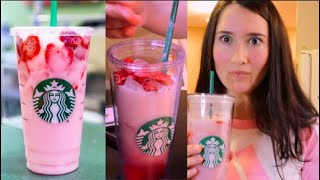 HOW TO MAKE A PINK DRINK AT HOME & SAVE LOTS OF MONEY