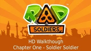 RAD Soldiers - Universal - Chapter One - Soldier Soldier