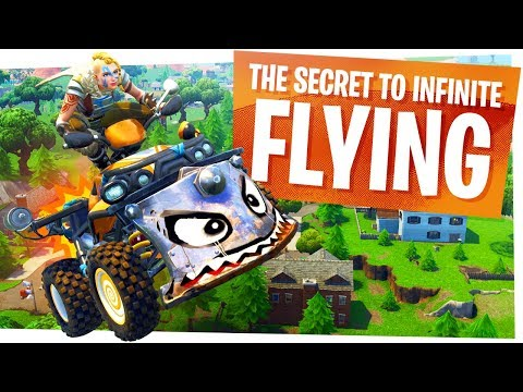 The Secret Tricks to Infinite Flying w Quad Crashers