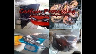 Catfish processing business: Smoke- drying and packaging of catfish