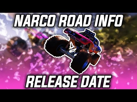 NARCO ROAD DLC RELEASE DATE | Ghost Recon Wildlands Narco Road DLC Update! (Info Drop)