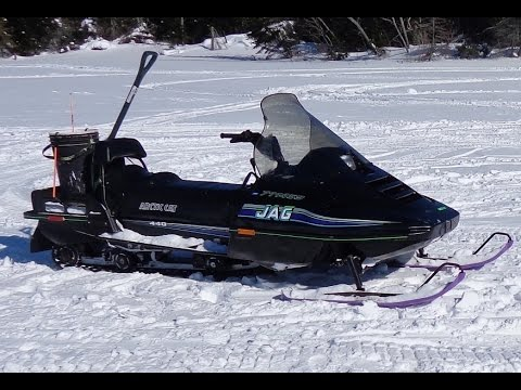 "Finding the ""Right"" Ice Fishing Sled"