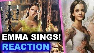 Beauty and the Beast 2017 Emma Watson Singing