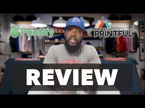 Printify Vs  Printful Review ( After 1 Wash ) - YouTube