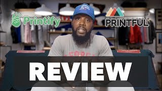 Printify Vs. Printful Review ( After 1 Wash )