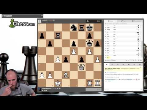 ANALYZING THE TSUNAMI ATTACK (Chess)