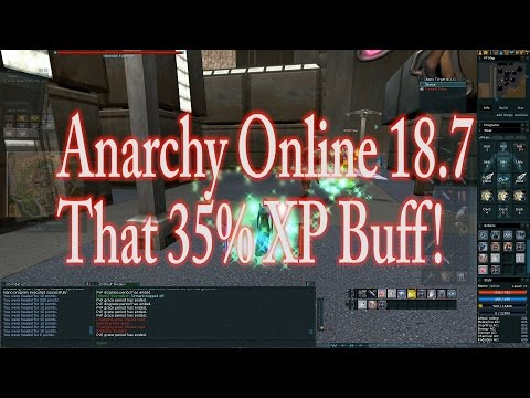 ANARCHY ONLINE 18.7 The 35% XP BUFF GUIDE (Clan) (1080p60 Gameplay / Walkthrough)