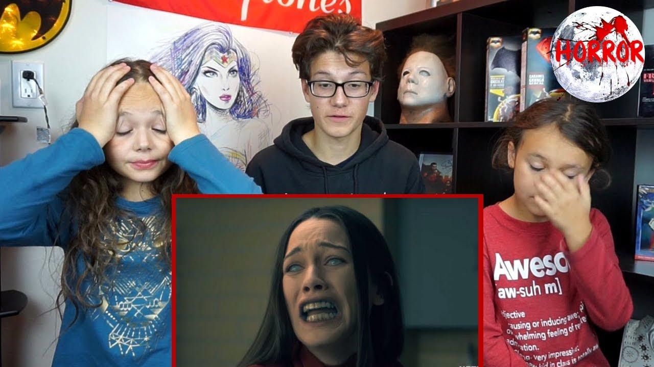 THE HAUNTING OF HILL HOUSE Netflix Trailer REACTION #1