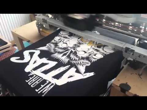 Wybitny drukarka do koszulek epson dtg 1400 / 4880 - YouTube SI69