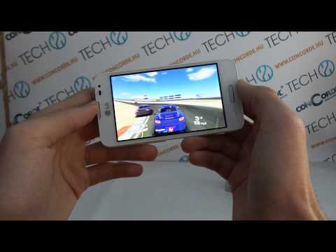 LG L65 Real Racing 3 gameplay video