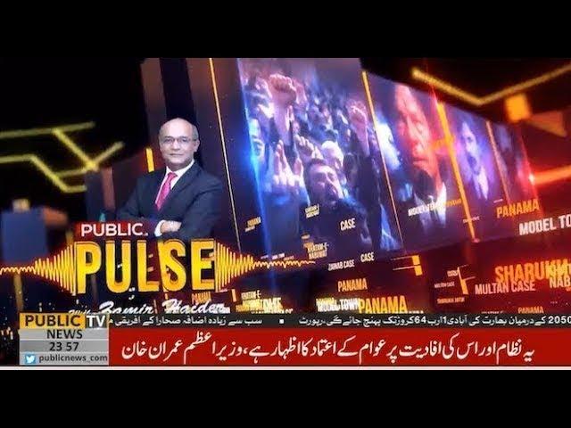 Public Pulse with Zameer Haider | Nadeem Afzal Chan | Faisal Karim Kundi | 19 June 2019