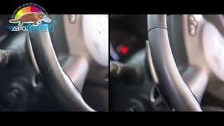 Устранение царапин и потертостей на кожаном руле автомобиля Infiniti QX70s