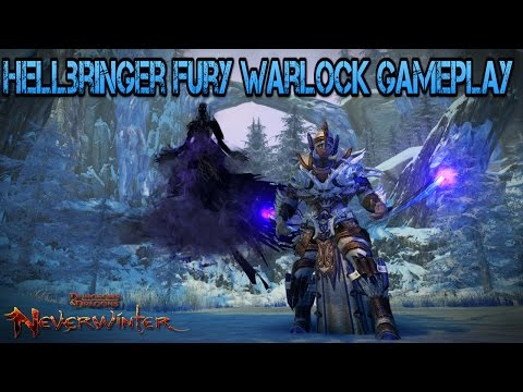 Neverwinter – Hellbringer Fury Scourge Warlock Gameplay | Throne Of The Dwarven Gods