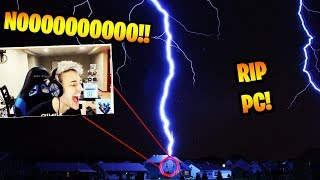 Fortnite Streamers House Gets Hit By Lightning During Live / Daily Fortnite Funny Moments #20