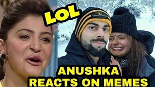 Anushka sharma Reacts on Her memes from sui dhaga, Anushka Sharma Best memes