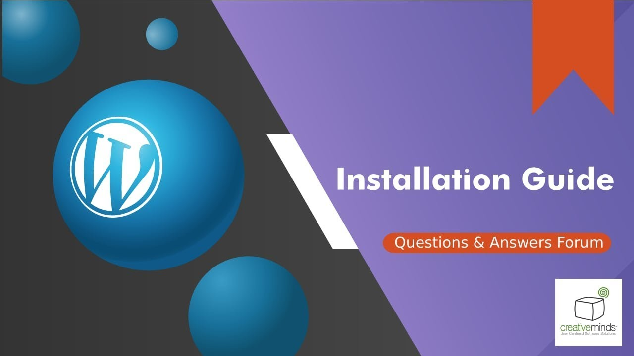 Installation Guide For The Questions And Answers Wordpress