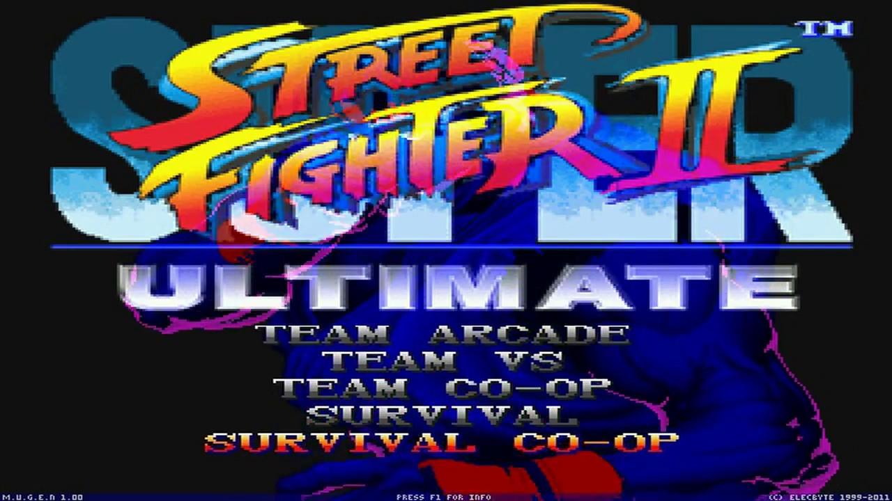 Mugen Fullgame Super Street Fighter Ii Ultimate Beta By Luis Zadkiel Joseph W David Rojas Youtube