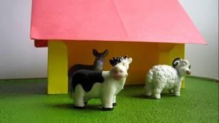 Поделка из бумаги ферма для животных