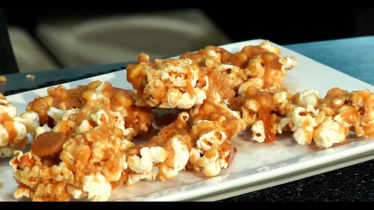 Receta palomitas de ma z con caramelo doovi - Como hacer palomitas de caramelo caseras ...