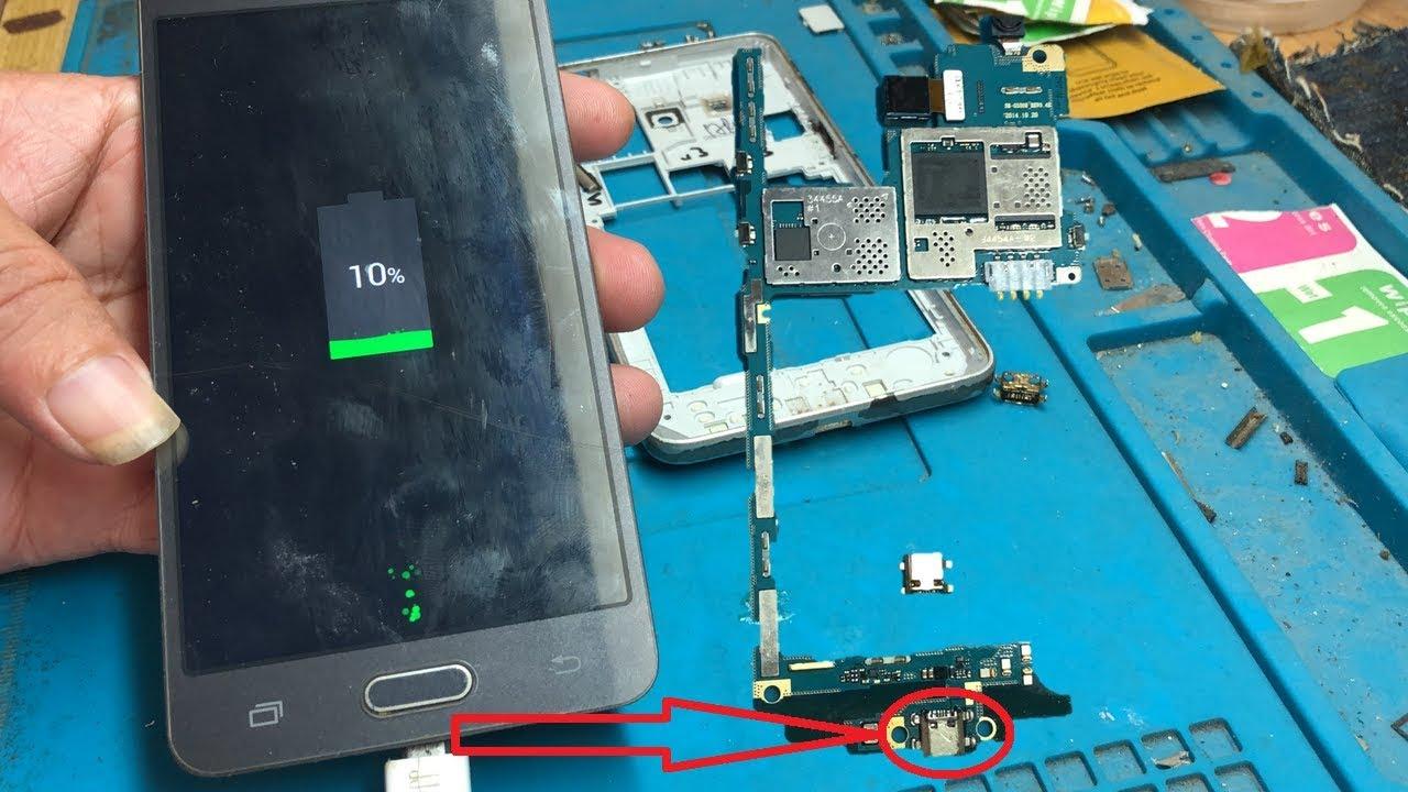 Thay Thế Chân Sạc Samsung Galaxy J2 Prime
