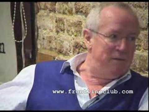 Robert Fisk Covering Wars Insurgencies And Massacres