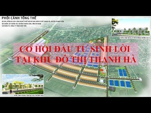 Cơ hội đầu tư sinh lời tại khu đô thị Thanh Hà, Thanh Liêm, Hà Nam