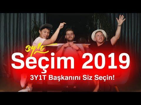 2019 3Y1T SEÇİM ÖZEL (3Y1T'nin Başkanını Seçin!)