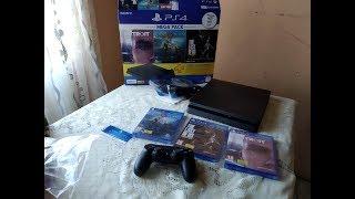 PlayStation 4 Mega Pack Unboxing - Detroit , God Of War 4 , The Last Of Us Remastered