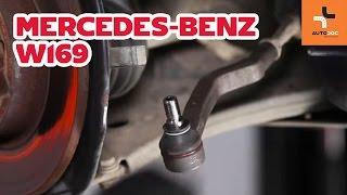 Raidetangon Pää irrottaminen MERCEDES-BENZ - video-opas