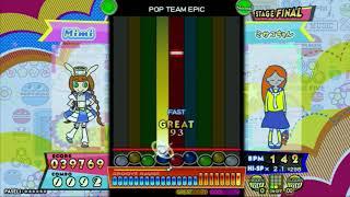 POP TEAM EPIC NORMAL【ポップンミュージック peace】
