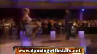 Holly Madison (Playboy girl) & Dmitry [ Argentine TANGO - Night 4 ] - Dancing with the Stars March30