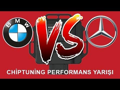 MERCEDES A45 AMG VS BMW M235İ CHİPTUNİNG KAPIŞMASI