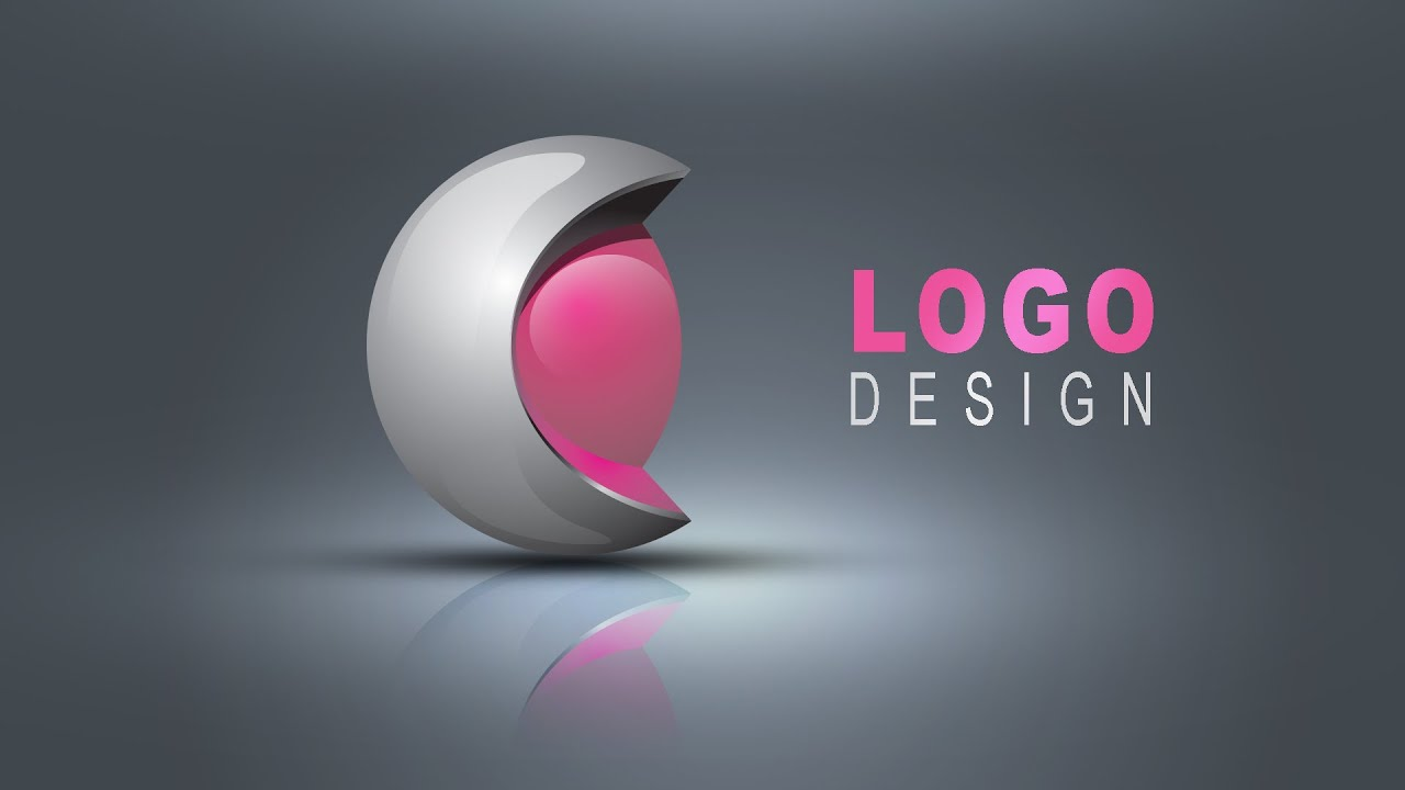 3d logo design in illustrator photoshop hindi urdo for Make 3d design online