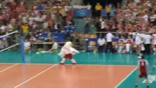 orzeł dance - Liga Światowa 2013, Poland vs Brazil