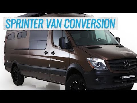 Customizing a Sprinter Van for Boondocking and Off-The-Grid Travel