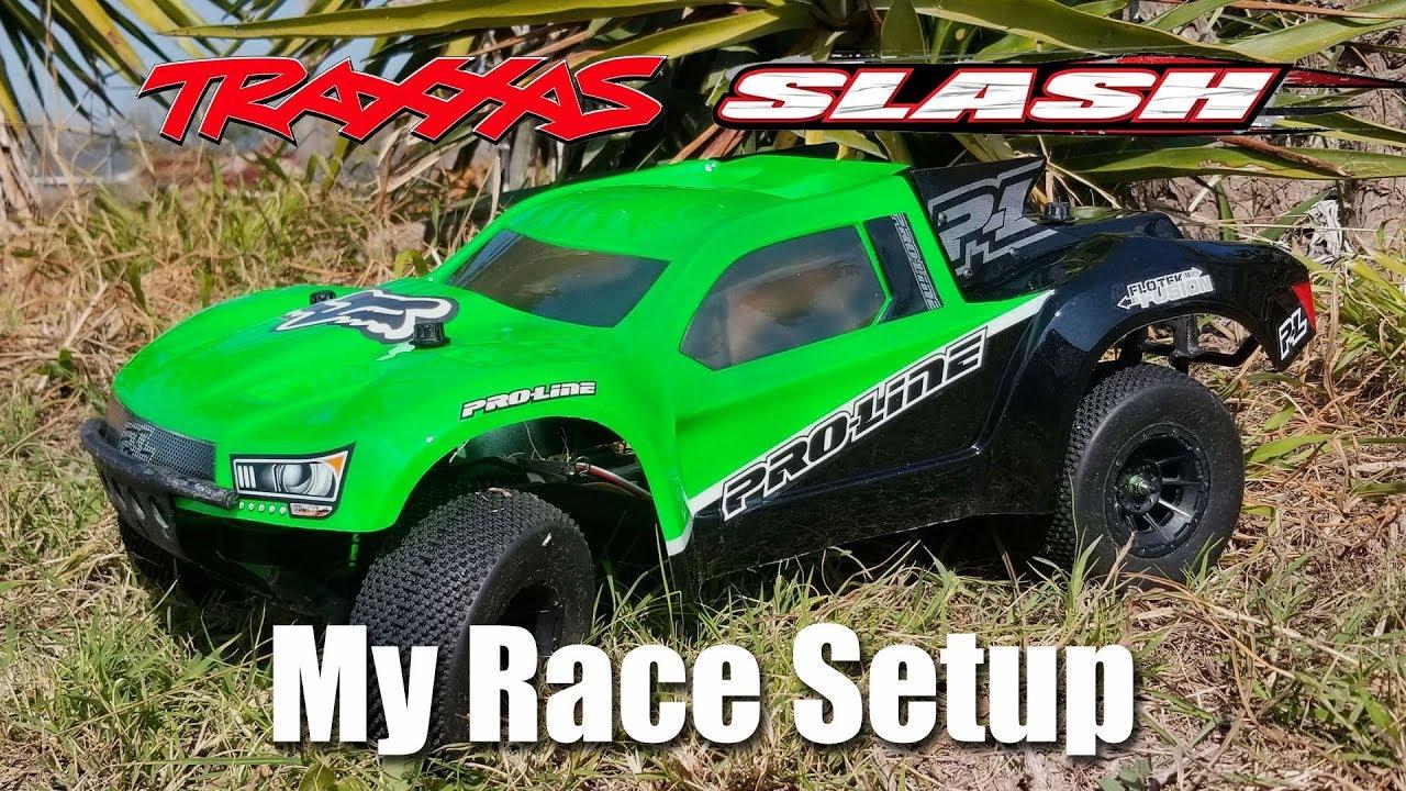 Traxxas Slash 2wd Race Setup