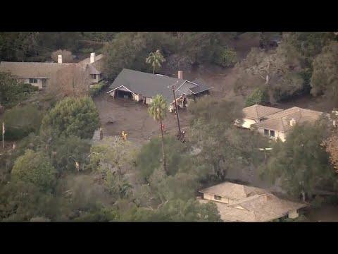 Death toll rises to 18 in California mudslides