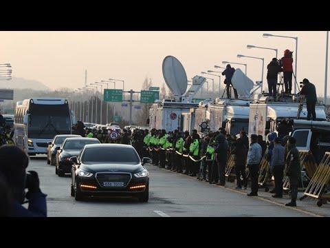 남측 대표단, 판문점 도착…남북 고위급 회담 시작 / 연합뉴스TV (YonhapnewsTV)
