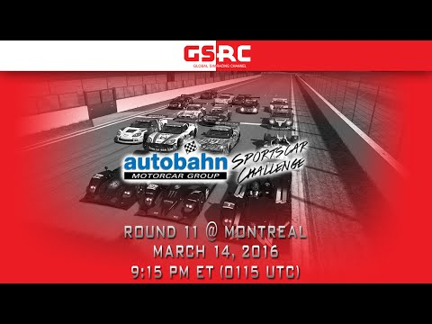 Autobahn Motorcar Group Sportscar Challenge Season 3 Round 11 - Montreal