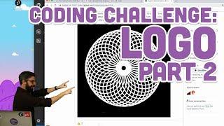Coding Challenge #121.2: Logo Interpreter Part 2