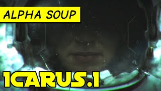 Icarus.1 gameplay: Tense sci-fi adventure (PC/Mac prototype game)